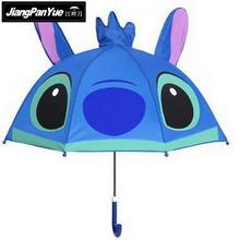 Cute Cartoon Stitch Children Umbrella for kids girls boys umbrella Baby Colored Umbrella with bow Yellow Duck