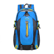 NEW backpack High capacity Nylon waterproof travel bag Mountaineering backpack Multifunction student school bags Laptop bag(China)