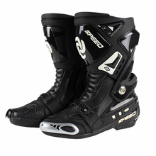 Genuine PRO-BIKER boots Speed Motorcycle botas moto Racing Road Race boots Shoes Knight Microfiber Leather Motorcycle boot(China)