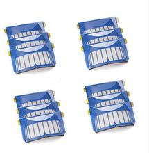12X Aero Vac Filters for iRobot Roomba 600 Series 620 630 650 robots with an AeroVac Bin(China)