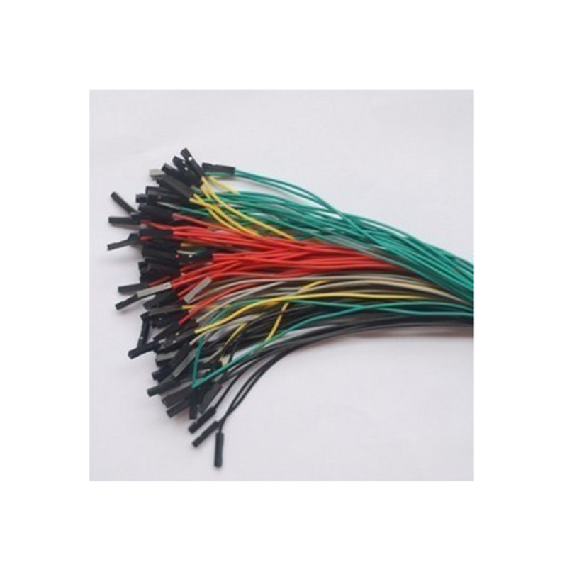 1 p single double dupont plug line 20 cm color randomly<br>