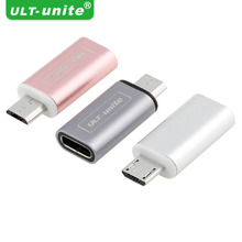 New Type-c USB Cable to Micro USB Adapter , For Samsung HTC Xiaomi SONY  Converter Charger  Female Adapter For Android iPhone
