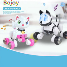 youdi Voice Control Dog Cat Simulation Electronic Robot Smart Interactive Dance Sing Toys Kid Gift Simulation Dog Multi-Function(China)