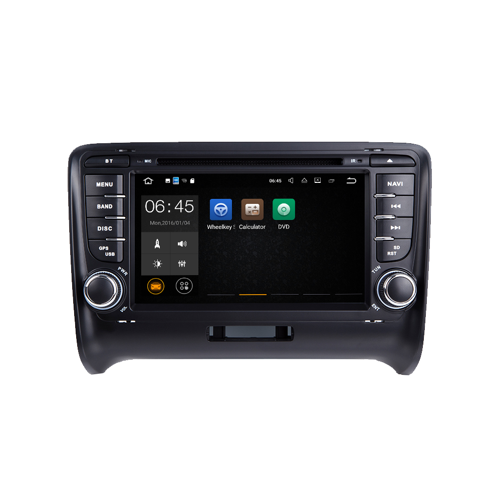 For 7″ android 7.1 car stereo multimedia for Audi TT with Canbus MP3 mirror link DVD