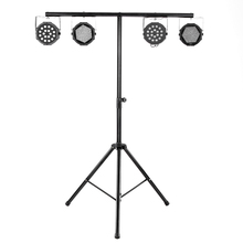 Tomshine DJ Par Can Light Stand Lightweight Adjustable Portable RetractableTripod Leg Capacity for Flash Strobe Stage Lights