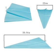 Big Size Silicone Reusable Icing Bag Piping Bag Pastry Bag Cake Cream DIY Decor Tool Fondant Dessert Decorators