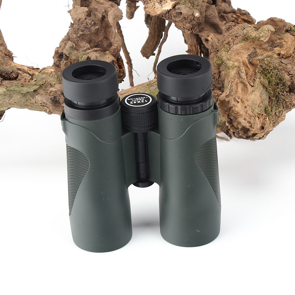 KANDAR Military 12X42 HD Telescope Wide-angle Power Zoom Binoculars No Infrared Eyepiece Hunting Scope for Hiking Camping (8)