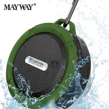Portable Waterproof Bike Wireless Bluetooth Speaker Loudspeaker Receiver Sound Box Handsfree Subwoofer For xiaomi Phone(China)
