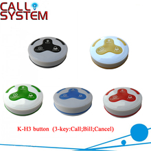 NEW for restaurant hotel hospital cafe equipment wireless and qucik service H3 Wireless Call Bell(China)