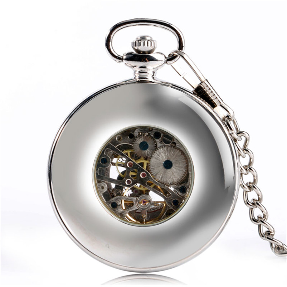 Vintage Wood Mechanical Pocket Watch Roman Numerals Creative Carving Flower Dial Wooden Watches Pendant Chain Women Men Gifts (6)