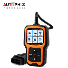 Autophix OM126 Universal Car OBD OBD2 Scanner Engine Error Code Reader Scan Tool for Diesel Gasoline Automotive OBDII 2017 New(China)