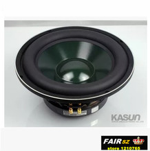 Kasun KS-10456 10 inch super bass speaker diameter 263mm 250W 8 ohm subwoofer DIY speaker 2pcs/lot