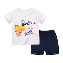 Buy LovinBecia children clothing sets Summer Baby boys T-shirt pants Kids Cartoon fashion sport clothes Sleeveless shorts 2pcs/sets for $9.43 in AliExpress store