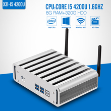 Mini PC I5 4200U 8G RAM+320G HDD+WIFI Thin Client Wireless Terminal Home Computer mini computer Support Hd Video