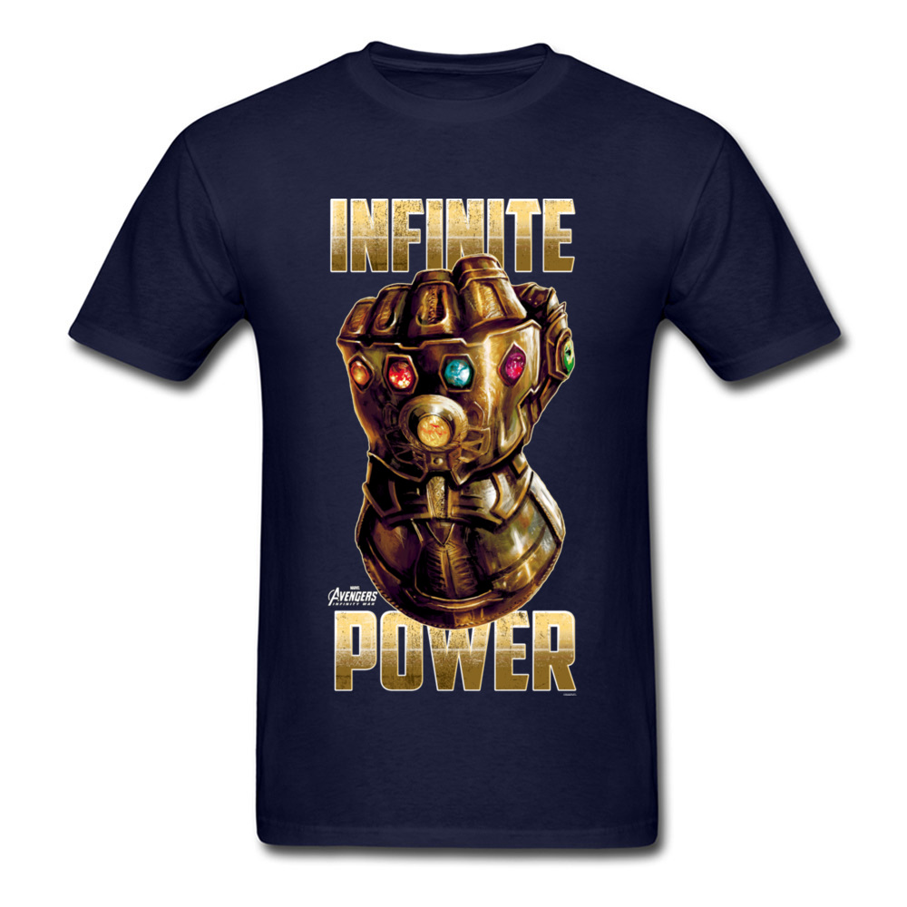 Star War Infinite Power Summer/Fall Pure Cotton Round Neck Tees Short Sleeve Funny Tops Tees 2018 Newest Summer T-Shirt Infinite Power navy