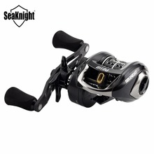 SeaKnight POTM 7.6:1 155g C60 Carbon Fiber Baitcasting Fishing Reel Ultra-Light Shallow Spool Fishing Reel Long Casting Fishing(China)
