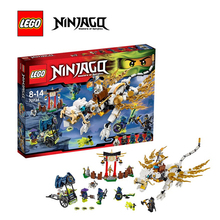 LEGO Ninjago Master Wu Dragon Architecture Building Blocks Model Kit Plate Educational Toys Children LEGC7034 - Tanlook Store store