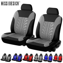 MISSUDESIGN Fashion Universal Fit Car Seat Protector Automobile Styling Sedan Interior Accessories Auto Car Seat Cover