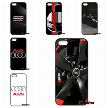 For iPhone 4 4S 5 5C SE 6 6S 7 Plus Galaxy J5 J3 A5 A3 2016 S5 S7 S6 Edge For slim Audi Car RS Logo cell phone case cover