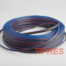 4 pin RGB Led Connector Cable Wire electric Extension Cord Lighting Accessories for 3528 and 5050 LED Strip Light