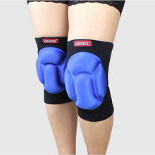 New 1 Pair AOLIKES Sponge Knee Pads For Dancing Basketball Volleyball Rodilleras Sliders Patella Guard Protetor Support Kneepad