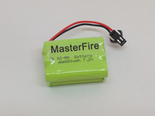 MasterFire 10pack/lot New Original 7.2V AAA 800mAh Ni-Mh Battery Rechargeable Batteries Pack Free Shipping(China)