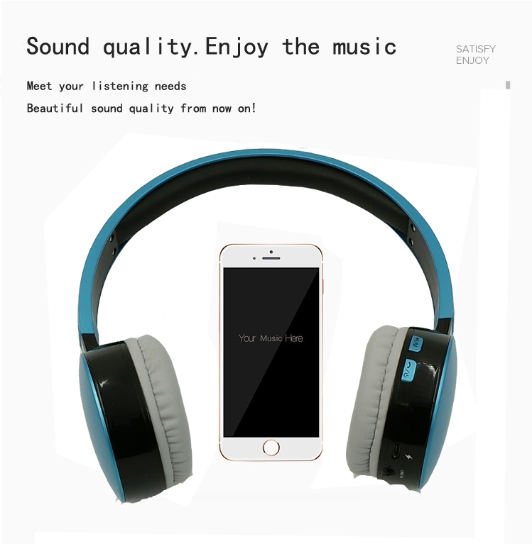 Hisonic Bluetooth Headset Wireless Headphones Stereo Sport Earphone Microphone Gaming Cordless Auriculares Audifonos 5