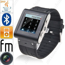 Aluminum W838 Wrist SMART Watch Mobile Phone Touch Screen 2GB ROM Waterproof GSM Quad Band Camera Bluetooth USB Russian French