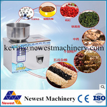 FULL-AUTO Quantitative Granular and Powder weighing Filling packaging machine for Grain,Medicine,Seed,bean,flour,seasonings.
