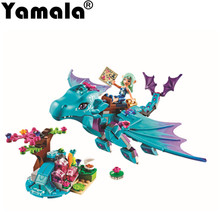 [Yamala] Elves Secret Place  activity education model building rus blocks girls and children's toys compatible legoingly