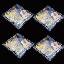 4 Set Classic Guitar Strings SC12 Six Strings Nylon Silver Plating Set Super Light Acoustic Guitar Musical Instrument