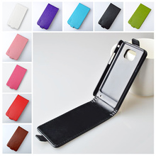 For Galaxy S2 Flip PU Leather Case For Samsung Galaxy S2 SII i9100 GT-i9100 cover Vertical Magnetic Phone Bag J&R Brand 9 colors(China)
