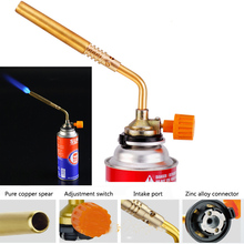 DAS Butane Blower Brazing Gas Torch Lighter Flame Gun for Welding Outdoor Camping BBQ