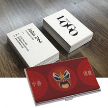 Magic business cards promotion shop for promotional magic business magic tricks cards case unique chinese style stainless business name credit card cards slim holder bank credit case colourmoves