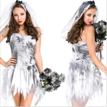 Halloween Costumes For Women Ghost Bride Costumes Halloween Ghost Costume Fantasia Cosplay Fancy Dress