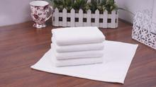 10pcs/lot Good Quality Cheap Face Towel Small Towel Hand Towels 30*30cm 40g Kitchen Towel Hotel White Cotton Towel(China)