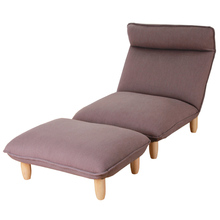 Contemporary Folding Lazy Sofa Chair Japanese Style Foldable Single Sofa 3Color Living Room Furniture Multifunction Lounge Chair(China)