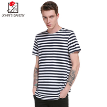 Fashion 2017 Brand Male t shirt Striped printing trends t-shirt men funny Summer Tee short sleeves mens cotton pokemon XXL 8 - Our Men'S Store store