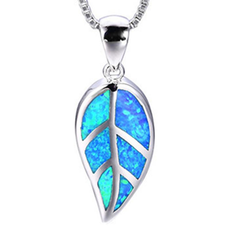 Fashion Silver Filled Blue Imitati Opal Sea Turtle Pendant Necklace for Women Female Animal Wedding Ocean Beach Jewelry Gift 7