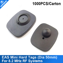 EAS Mini hard tags for 8.2 MHz RF Systems