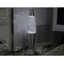 USB Multi-Color Changing Lava Lamp LED Glitter Mood Night Light Party Decoration-Y103(China)