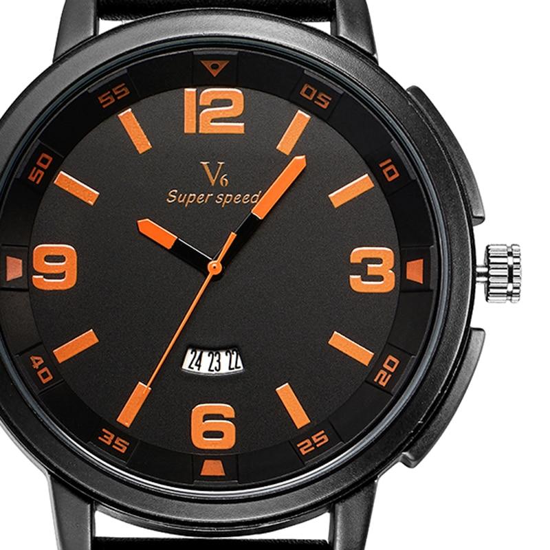 Men Fashion Date-Day Men Cool Analog Quartz Leather Band Strap Military Wrist Watch Sport relogio masculino Male Clock White<br><br>Aliexpress