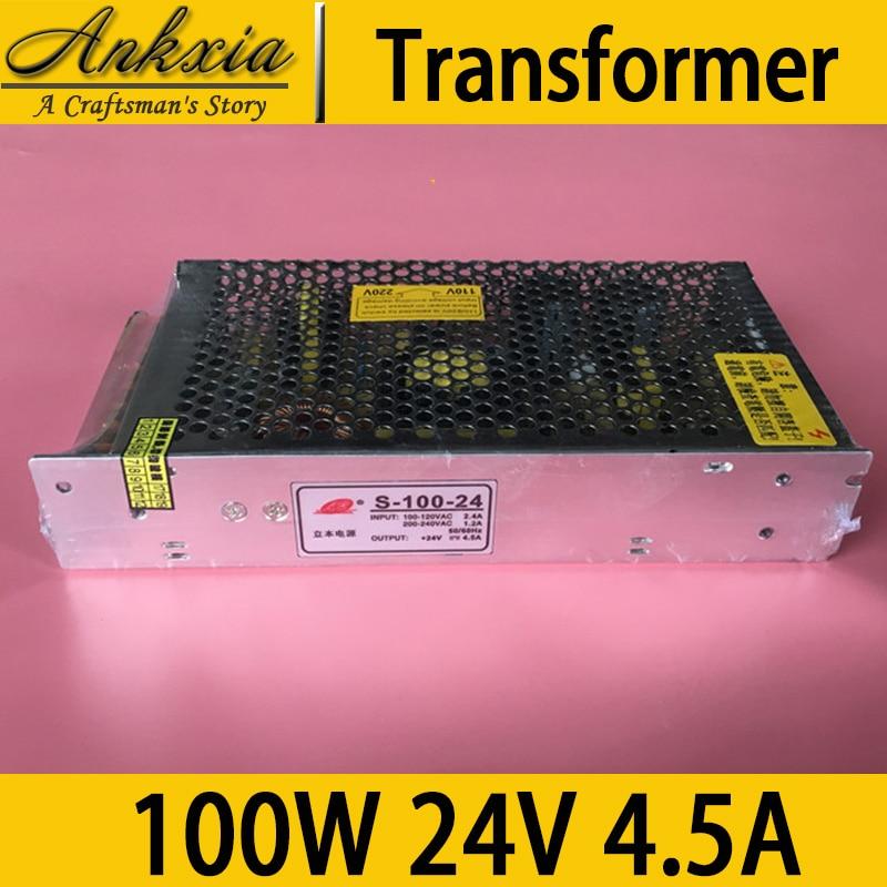 100W 24V 4.5A Professional Laser Cutting Machine CNC 3D Engraver Printer Transformer <br>