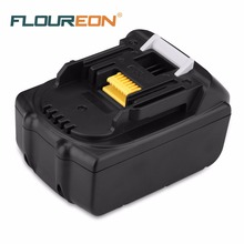 For Makita BL1830 BL1840 FLOUREON 18V 3000mAh Power Tool Battery Pack Rechargeable Battery Cordless Drill Li-ion Batteries
