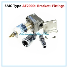 "AF2000-02 Compressed Air Compressor In Line Moisture Water Filter Trap 1/4"" W stents(China)"