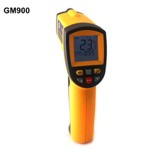 -50~900C -58~1652F Digital Pyrometer IR Infrared Thermometer Non-Contact Electronic Temperature Meter Point Gun GM900(China)