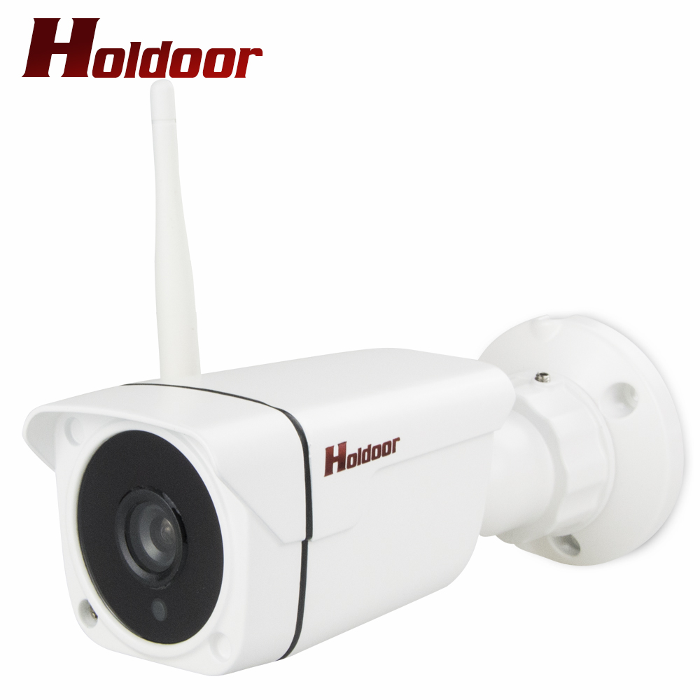 Outdoor Bullet 720P WiFi IP Camera for Security Waterproof IP66 CCTV Surveillance Onvif 2.0.4 P2P Phone Remte IR  Home Cam<br>