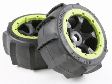 Rear Sand Buster Tyres Paddle Wheels Tires Fit 1/5 RC Car ROAVN KM HPI Baja 5B 1/5 Scale Rc Baja Part