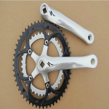 cycling Road bike modified crankset 52/39 gear tooth chain wheel track bicycle 52T/39T chainwheel for folding bike refit