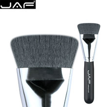 JAF Synthetic Flat Kabuki Brush Foundation Face Blending Brushes Makeup Contour Brush Highlighter Brush Free Ship 18SKYE(China)